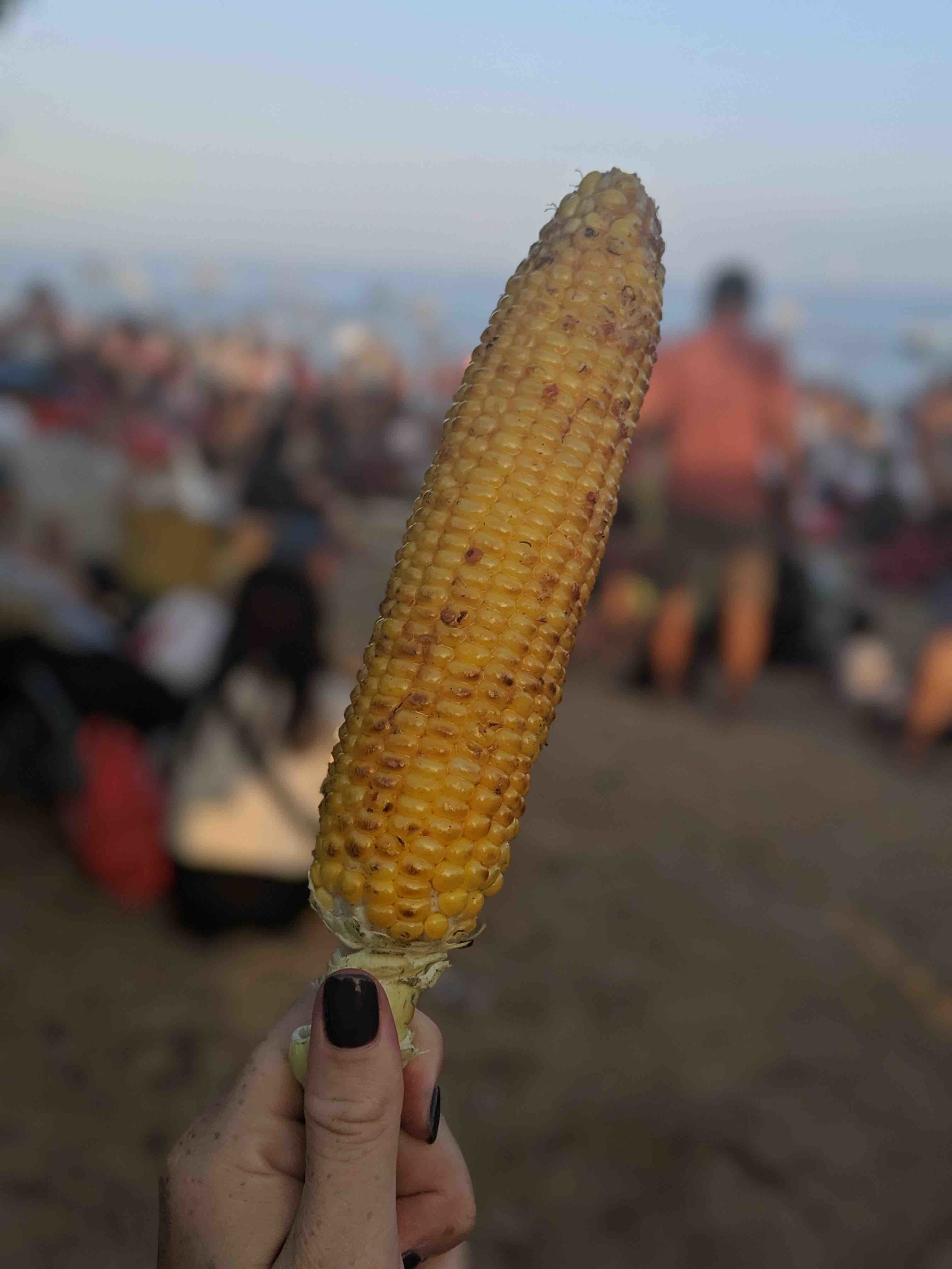 Cart corn at mystery festival we stumbled upon