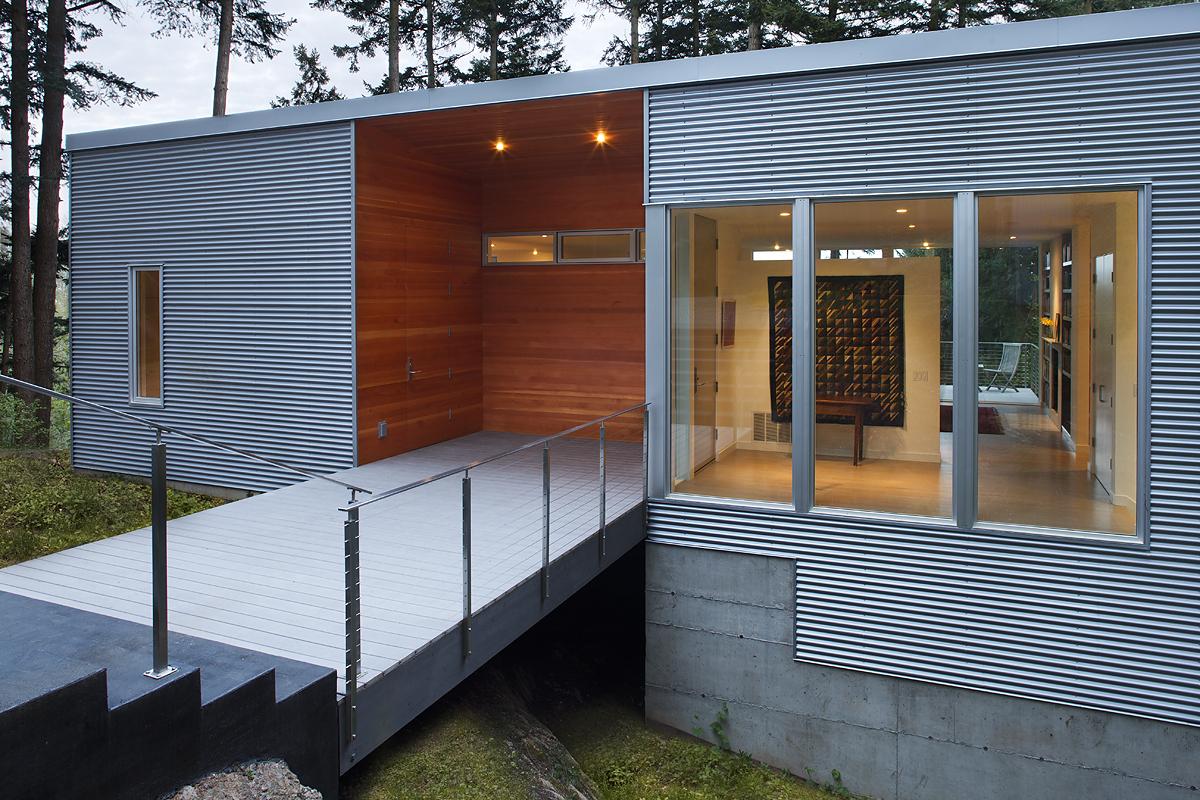 2_Exterior Entry at Wood Box Detail_Skagit River House.jpeg
