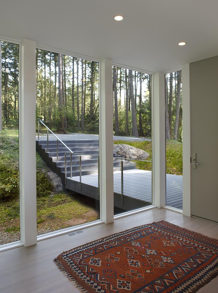 3_Entry With Bridge Beyond_Skagit River House.jpeg
