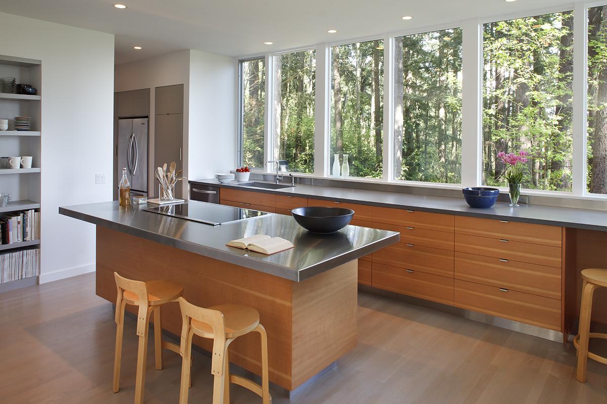 8_Kitchen Island and Window Wall_Skagit River House.jpeg