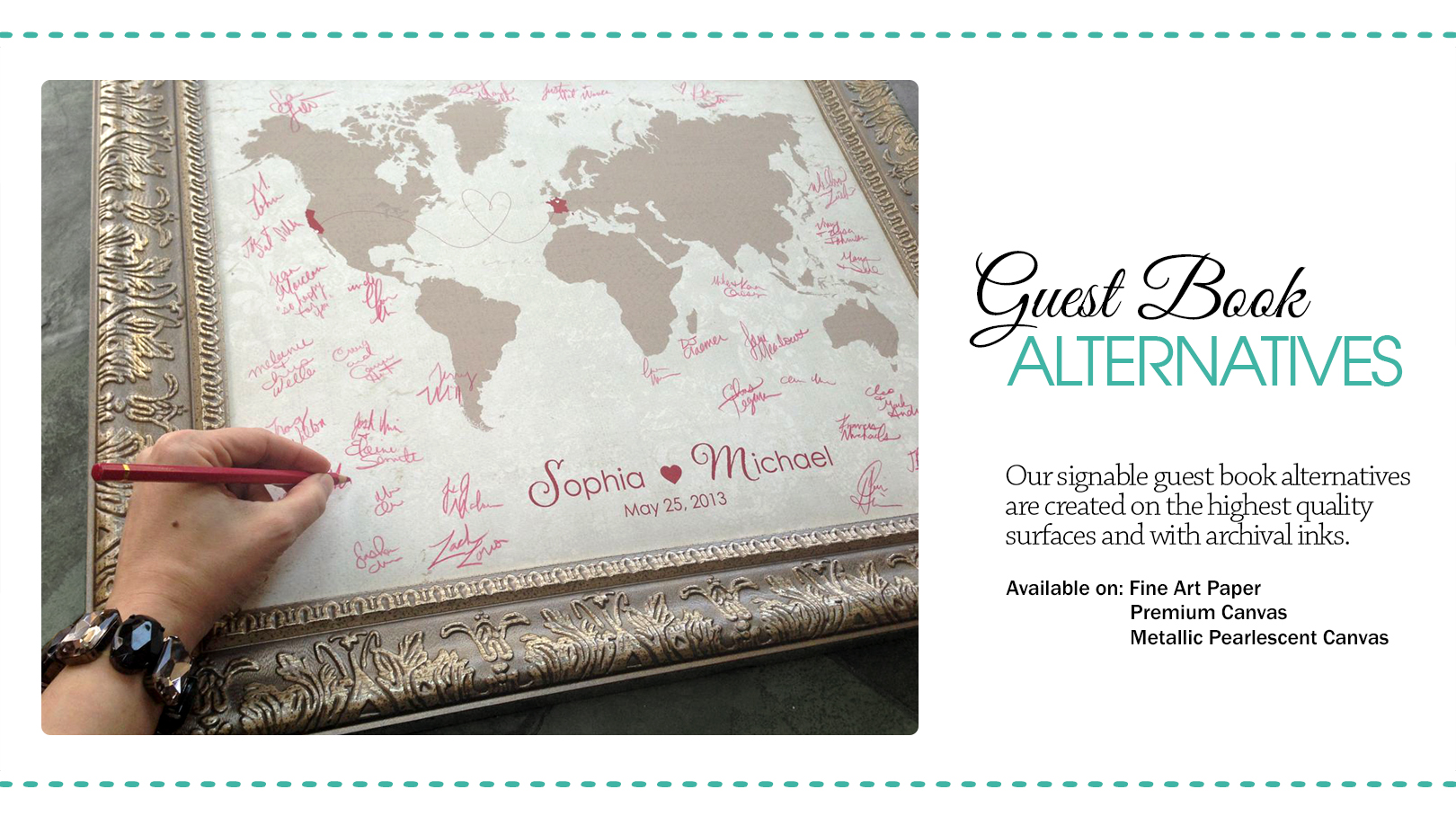 Guest Book Wedding.Wedding Guestbook Alternative Designs Guestbooks Wedding Decor The Here And There Shop