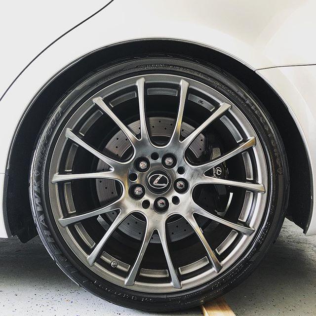 Sudsday Funday. 👌🏾💦🏎💨 .  #LexusISF #Detail #19inch #BBS #14inch #Brembo #drilledrotors #FireHawkIndy500 #GarageMod #stoponadime #skrrtskrrt