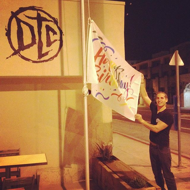 5:30am, seven years back, exactly. Happy seventh birthday #dogtowncoffee. We thank you and all the amazing people, who been supporting you since that moment.