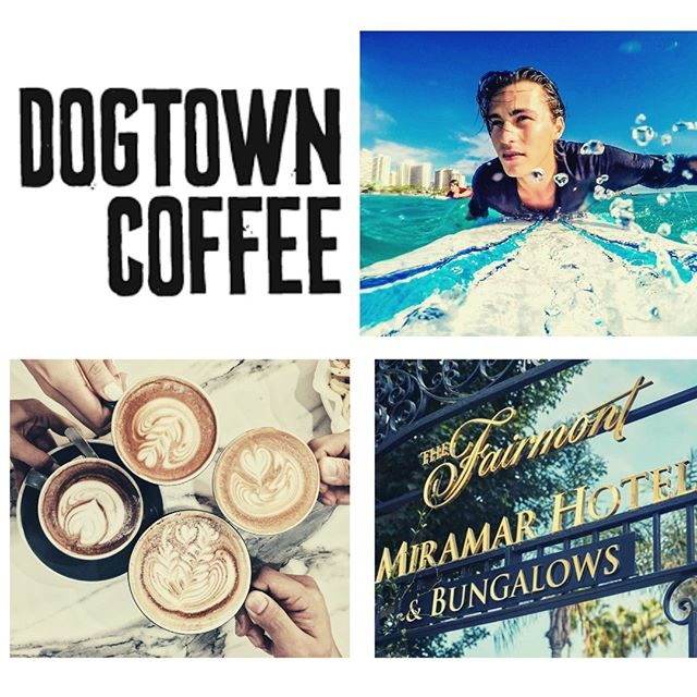 Dogtown Coffee + Food will be opening a new location at the Fairmont Miramar Hotel this Friday! We are so excited to be joining such a historically rich landmark!  #dogtowncoffee #coffee #coffeelovers #acaibowl #munchieburrito #santamonicabeach #santamonica #santamonicacoffee #santamonicabreakfast #coffeeshopvibes #skateboarding #surfing #dtcsaltydog #breakfastsantamonica #veniceboardwalk #fairmontmiramar #onlyatthemiramar