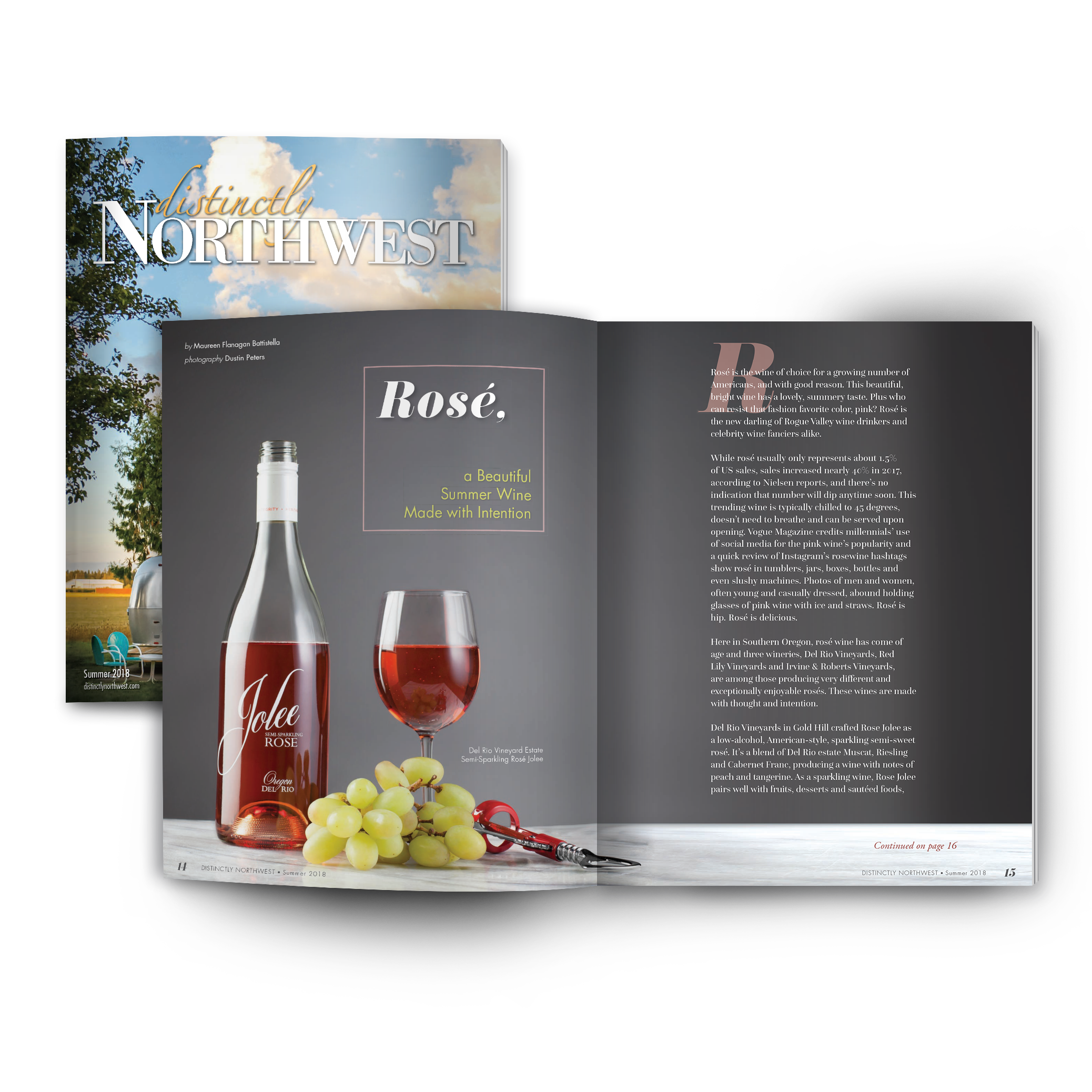 Wine Photos By: Dustin Peters |    Read Full Publication