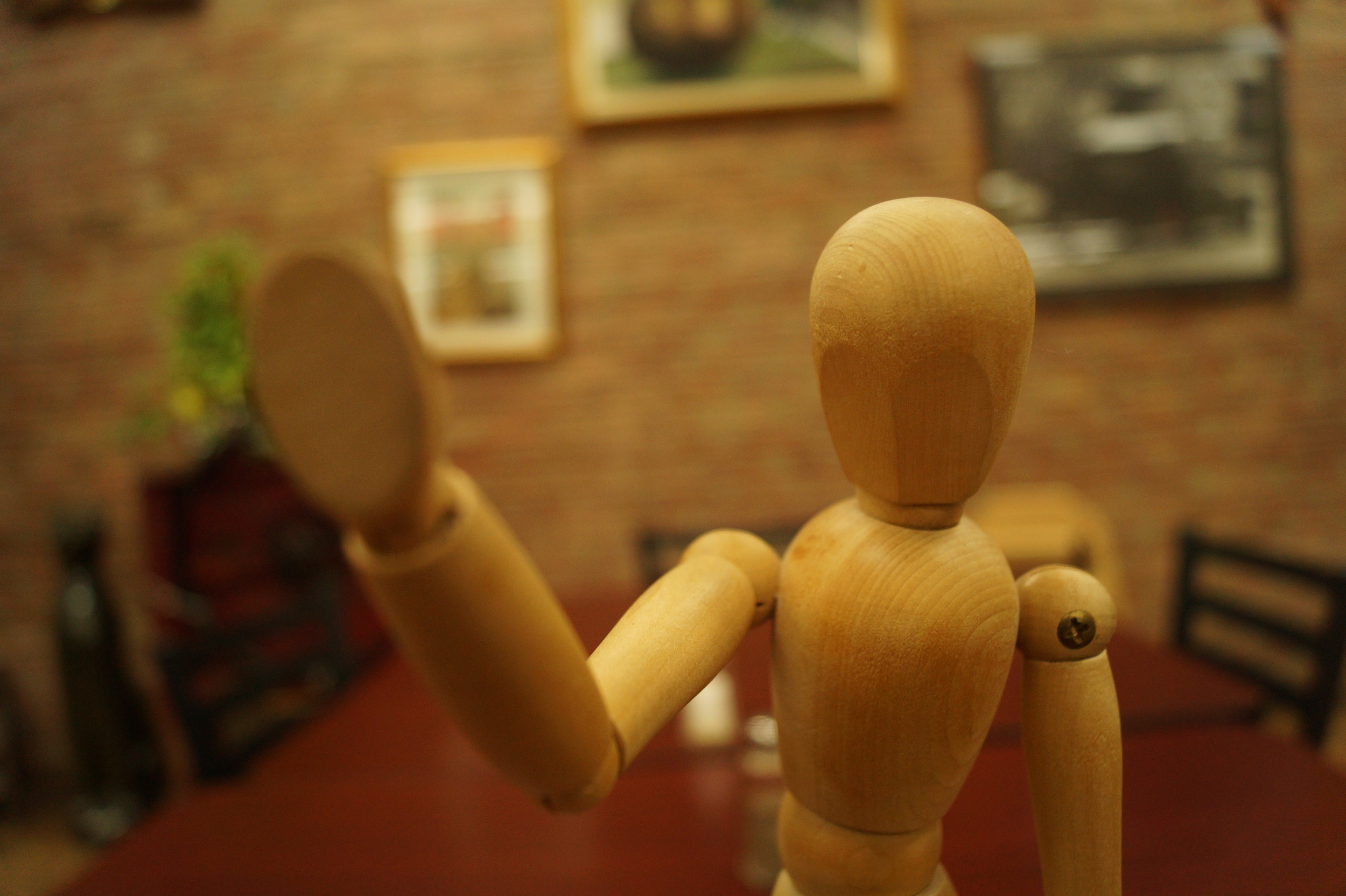 The wooden dummy (privicy)