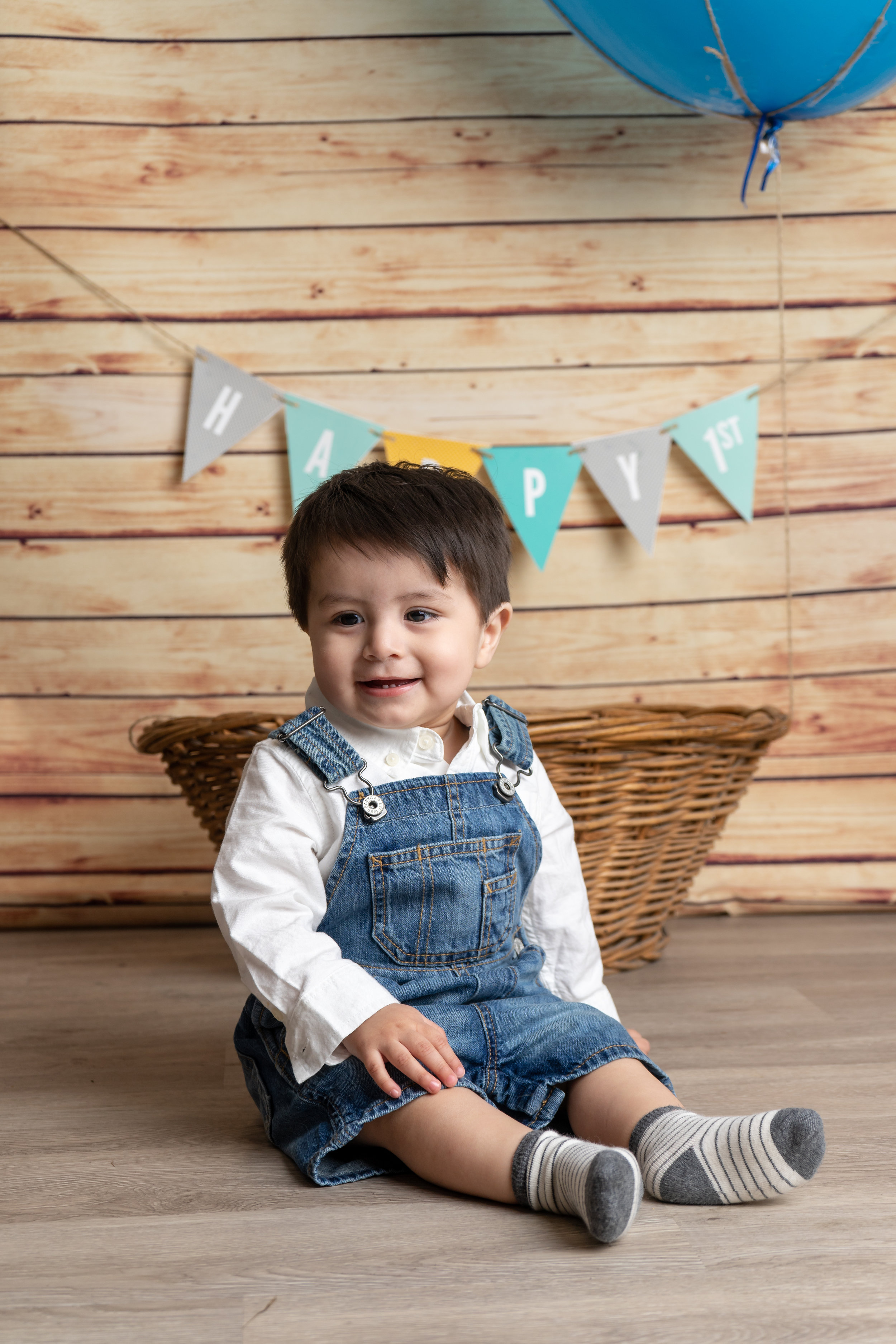 One Year Old Photo Shoot