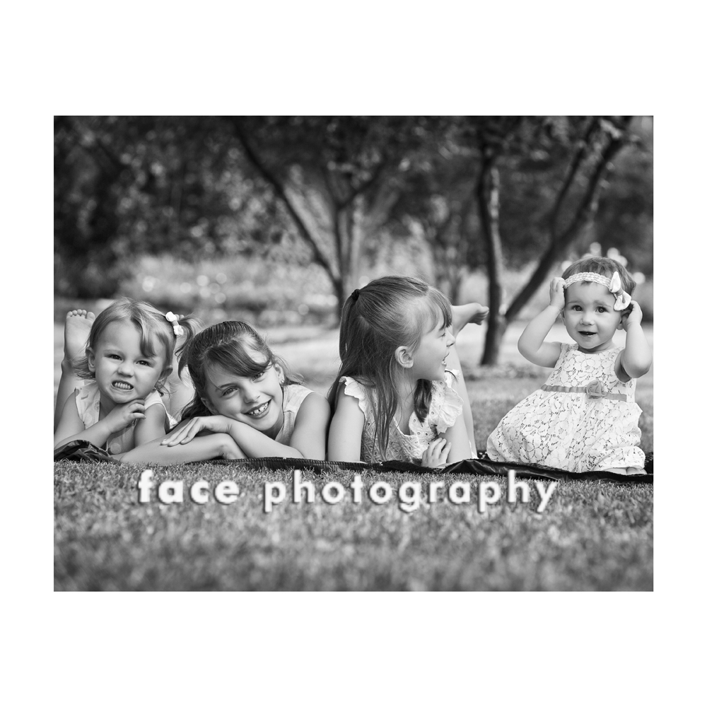 Four Sisters _ Face Photography