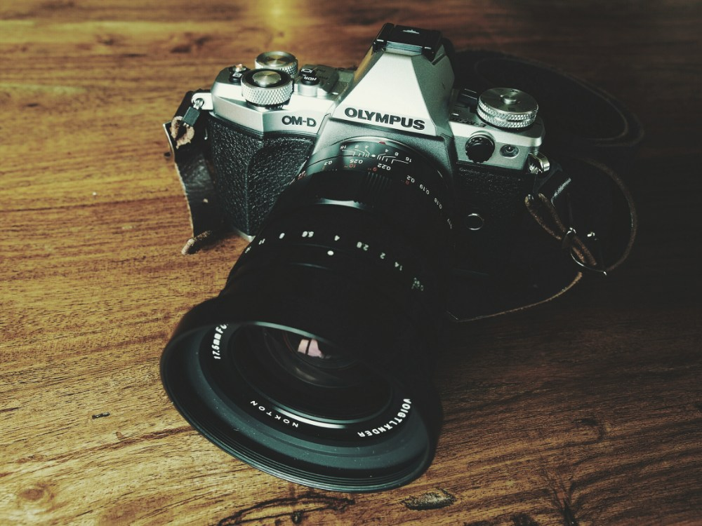 The OM-D E-M5 Mark II with Voigtlander 17.5mm f0.95