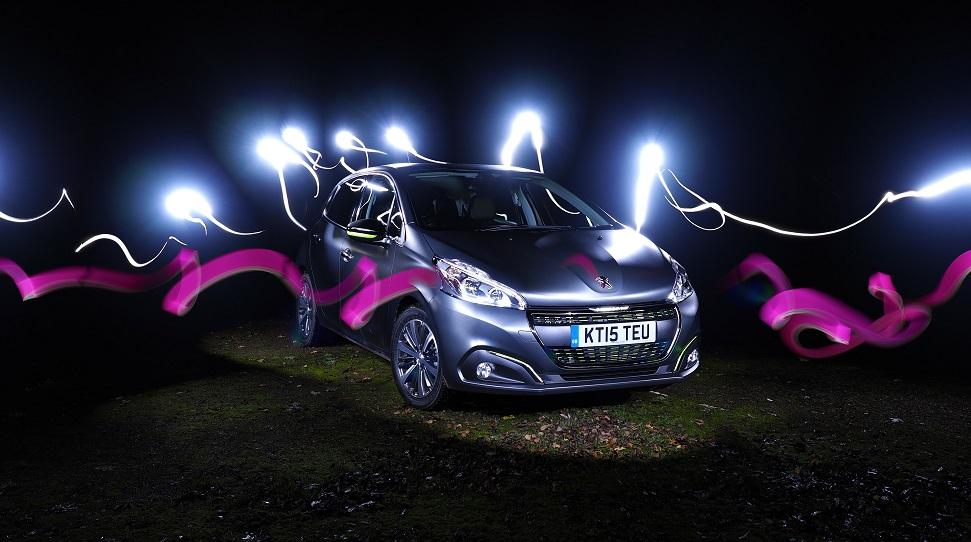 #208unleashed - Automotive Light Painting - Photo