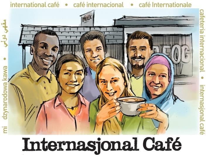 Kafeen er arena for å møte folk, et sted for å skape vennskap. Vennskap er den beste form for integrering.