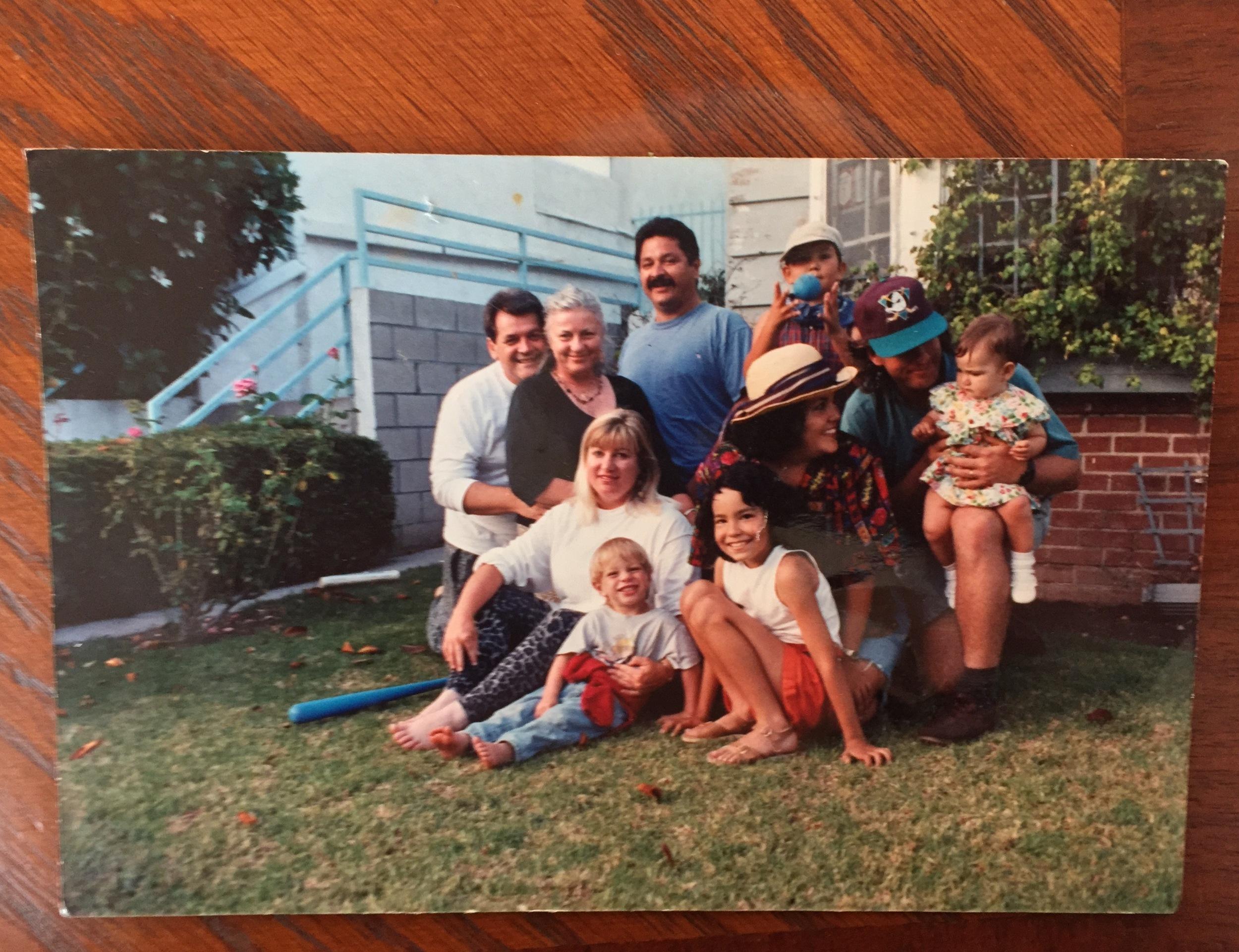 :: My family in Culver City, CA circa 1993 ::