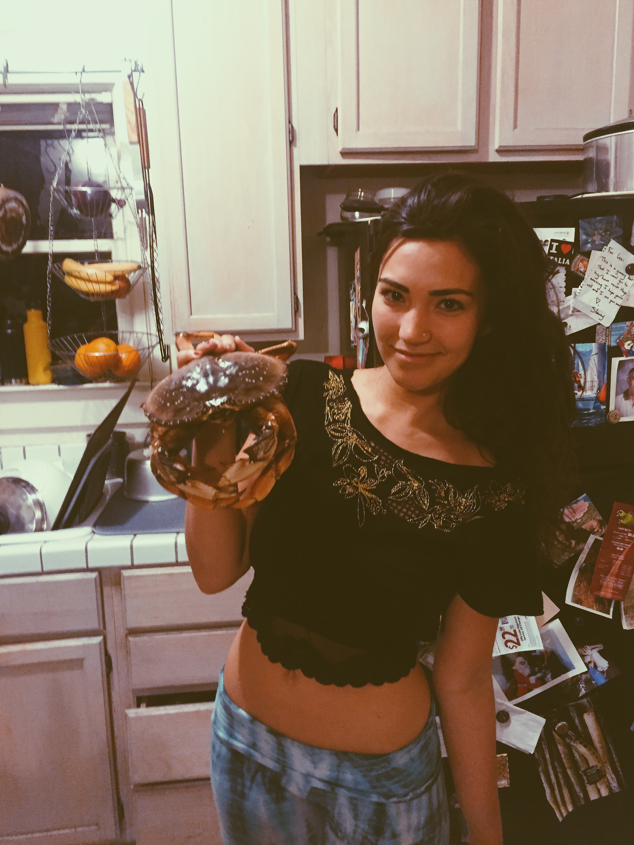 :: I learned how to clean a crab ::