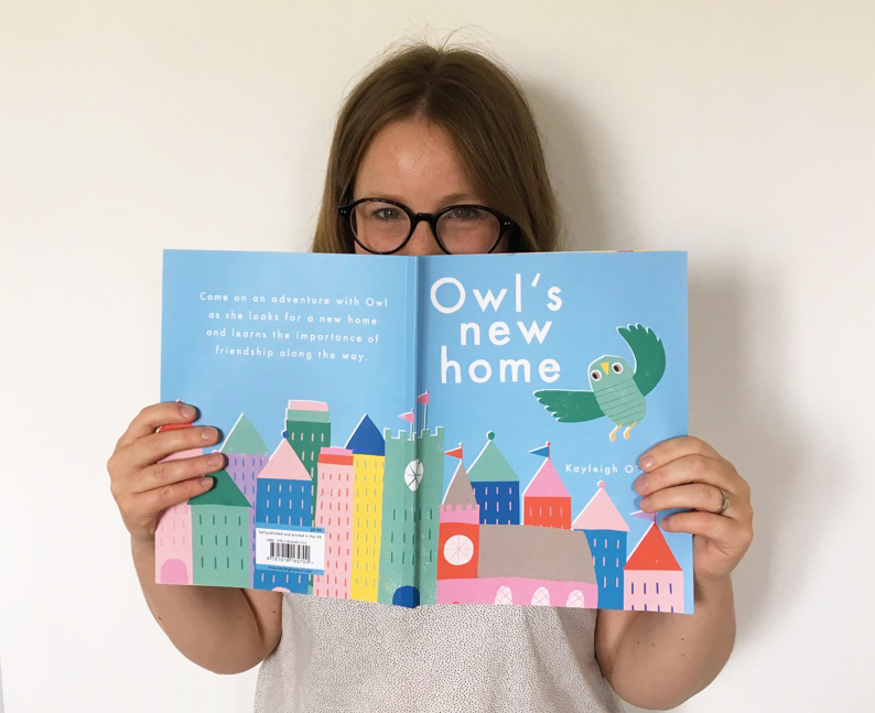 NEW BOOK - owl's new home,an illustrated children's book