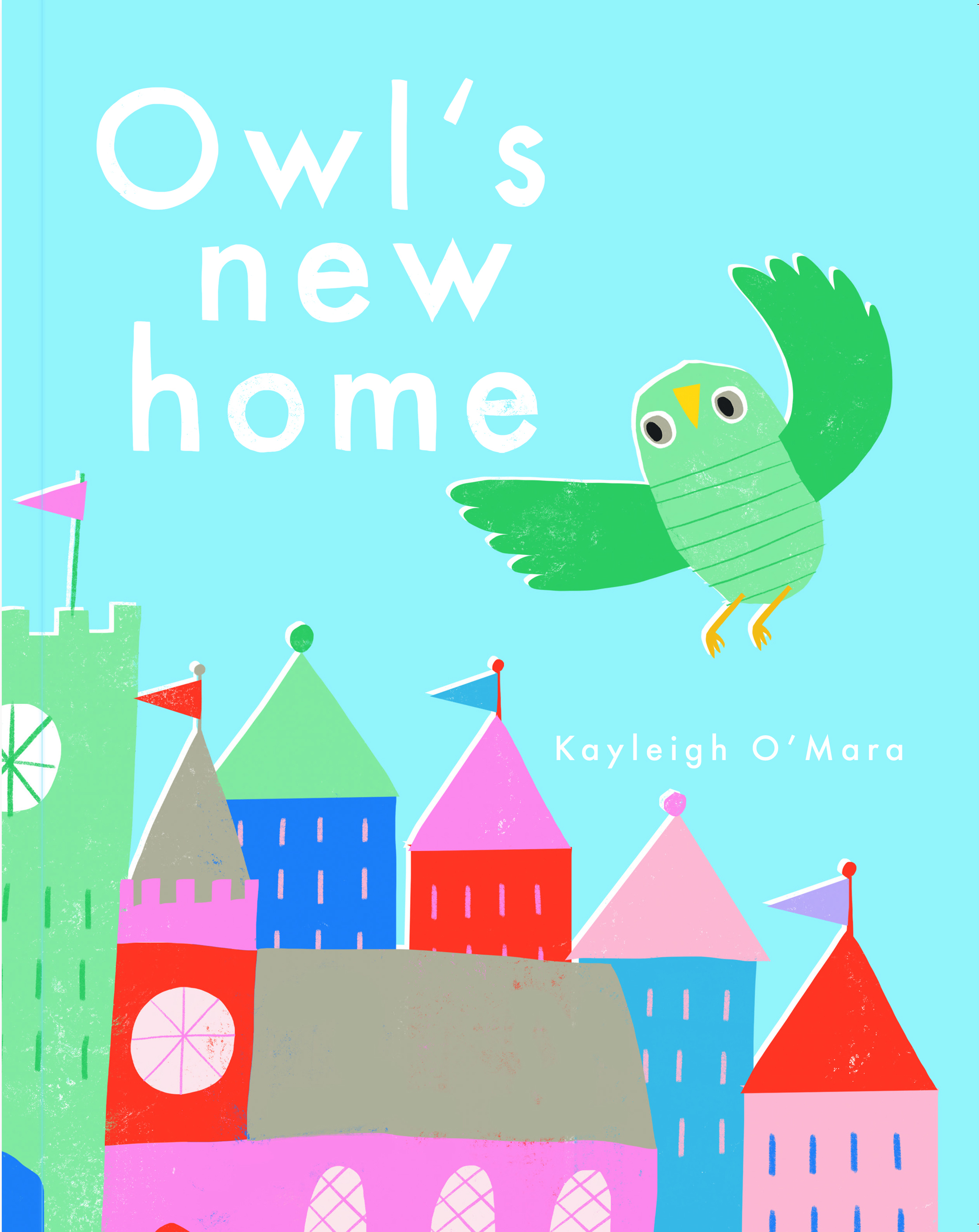 Owl's new home, an illustrated children's book