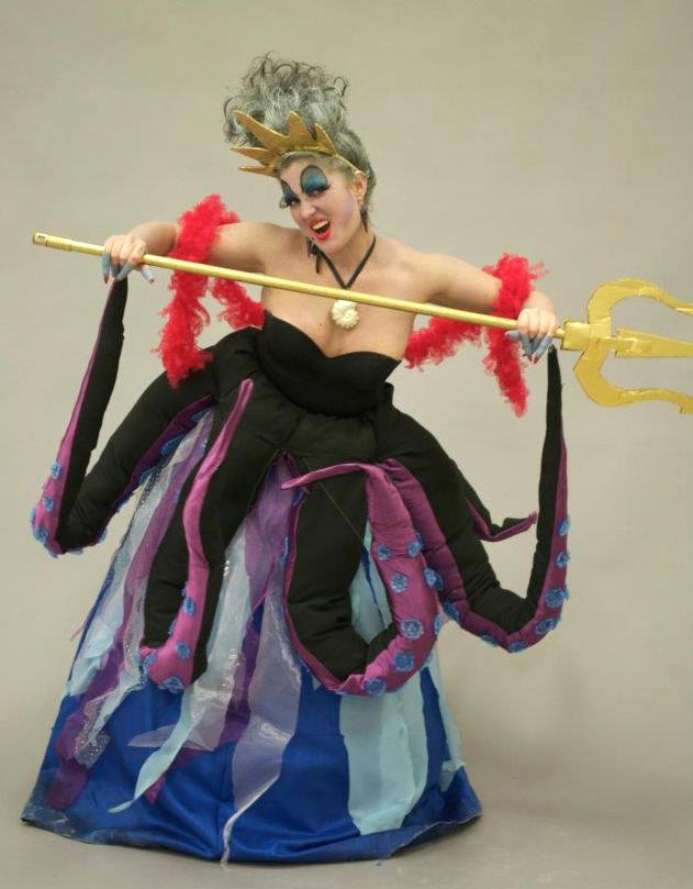Ursula  Used and recycled materials