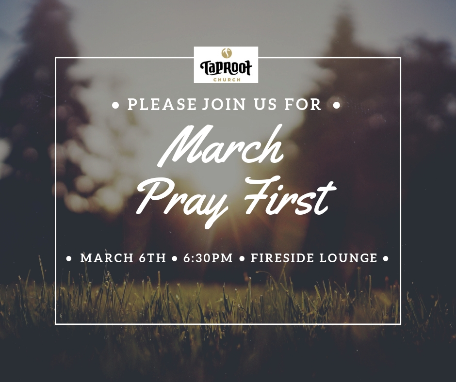 Join us in the Fireside Room to worship and pray for God's Kingdom to come in our church and city! Childcare will be provided!