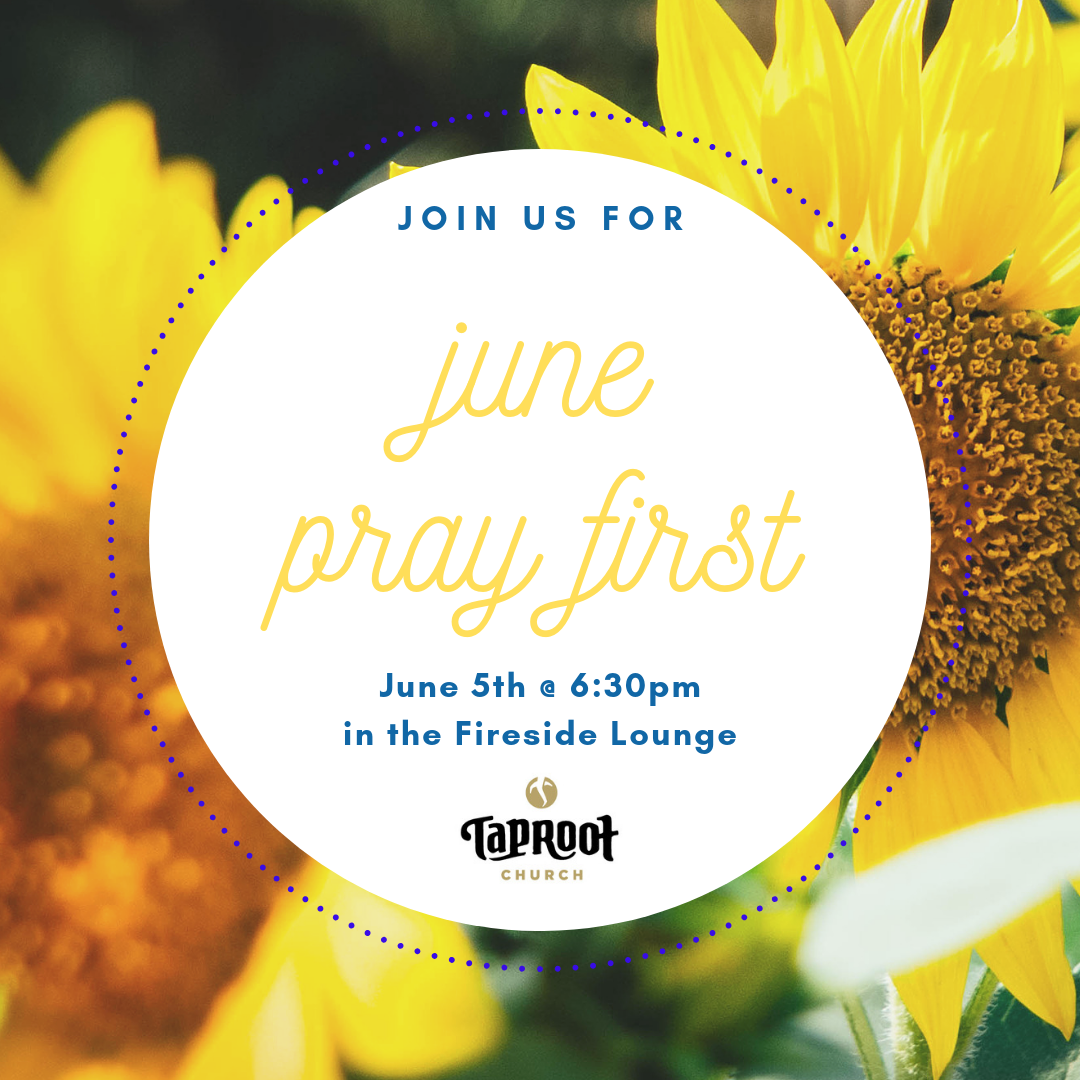 Join us in the Fireside Lounge to worship and pray for God's Kingdom to come in our church and city! Childcare will be provided.
