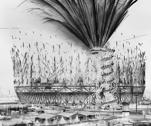 In honor of tonight's @olympics closing ceremony we're celebrating #rio2016 with @damionberger's image from the #London2012 ceremonies. A part of his #BlackPowder series, #DamionBerger uses a large format camera to capture firework displays around the world. Image: 'Opening Ceremony,' London, 2012 #DamionBerger #Photography
