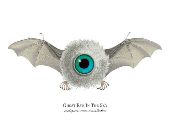 """Ghost Eye in the Sky"""