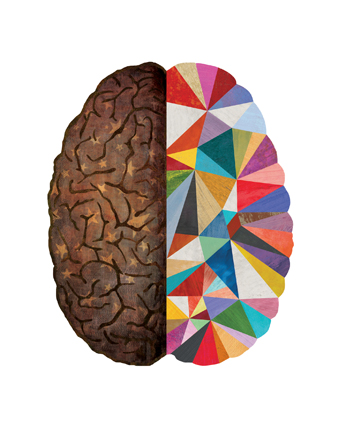 """Geometric Right Brain"""