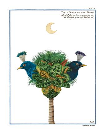 """Two Birds in the Bush"""