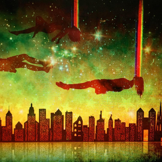 """Night City Rising"" (Dreamers 2) [detail]"