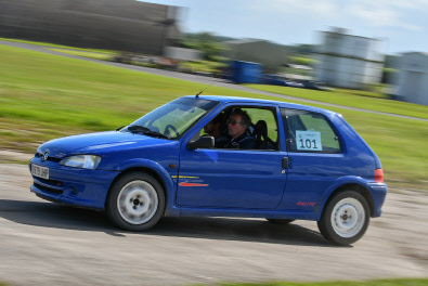 2017 Winners: Ben Griffin/Steve Connor (Peugeot 106 Rallye)  Photo:  Jack Flash Photography