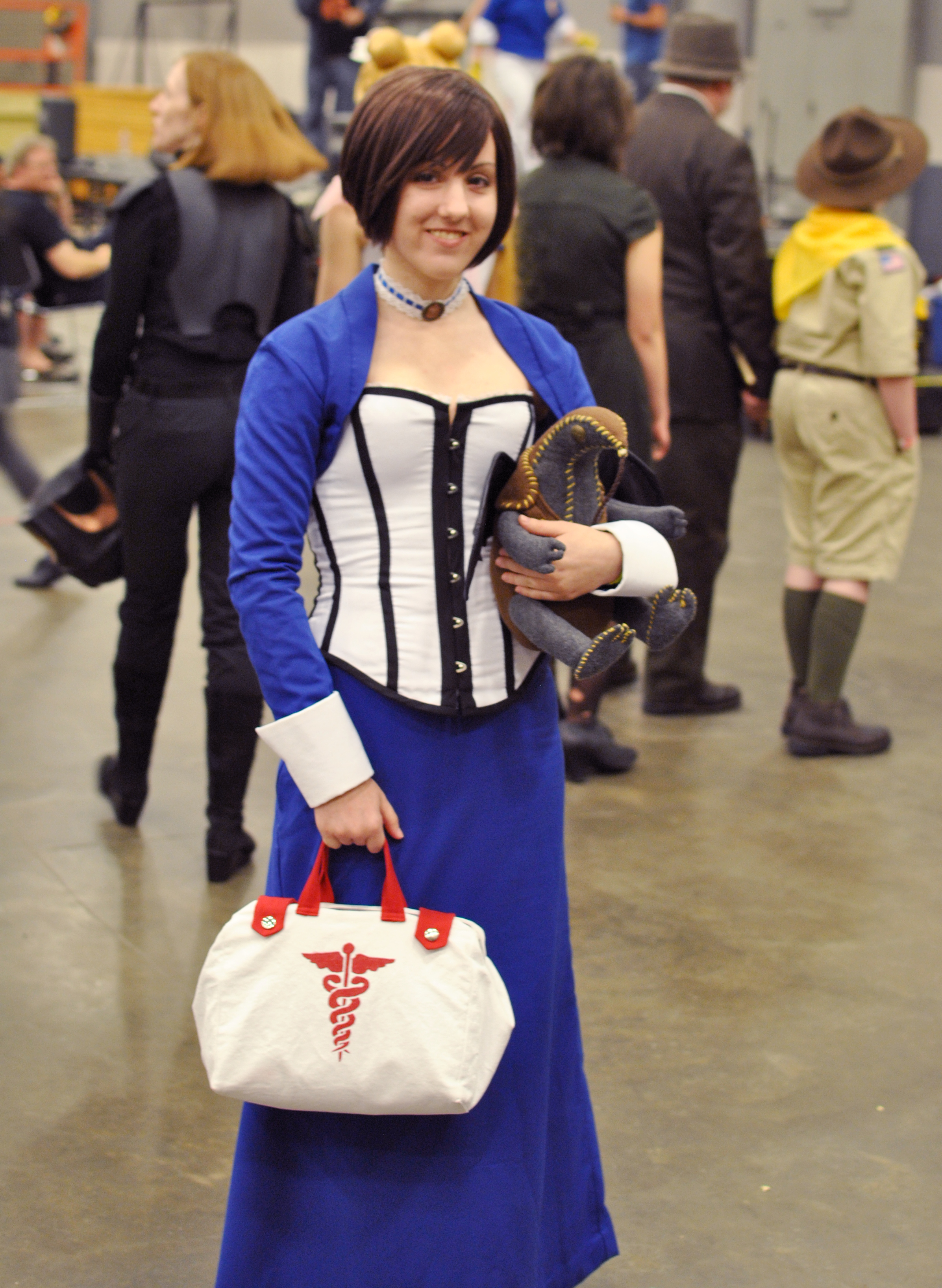 Elizabeth's medicine bag would prove useless for treating the victims of a nuclear bomb, however, her ability to tear holes into alternate universes could provide us with a way to see how often humanity has fallen to this seemingly inevitable fate.