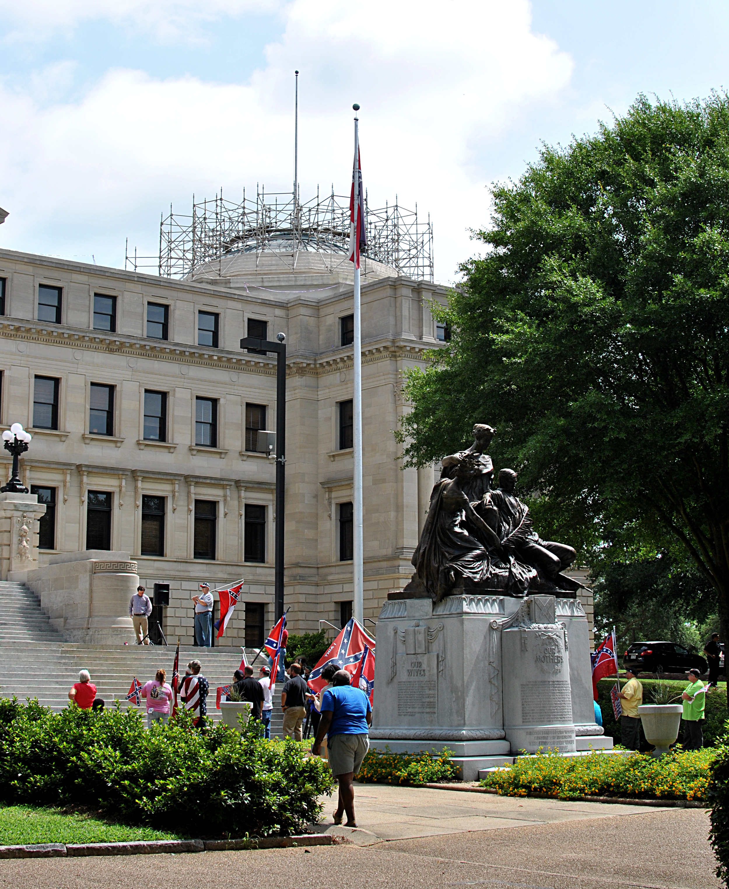 The Mississippi State Capitol: Renovating to join the 20th century.