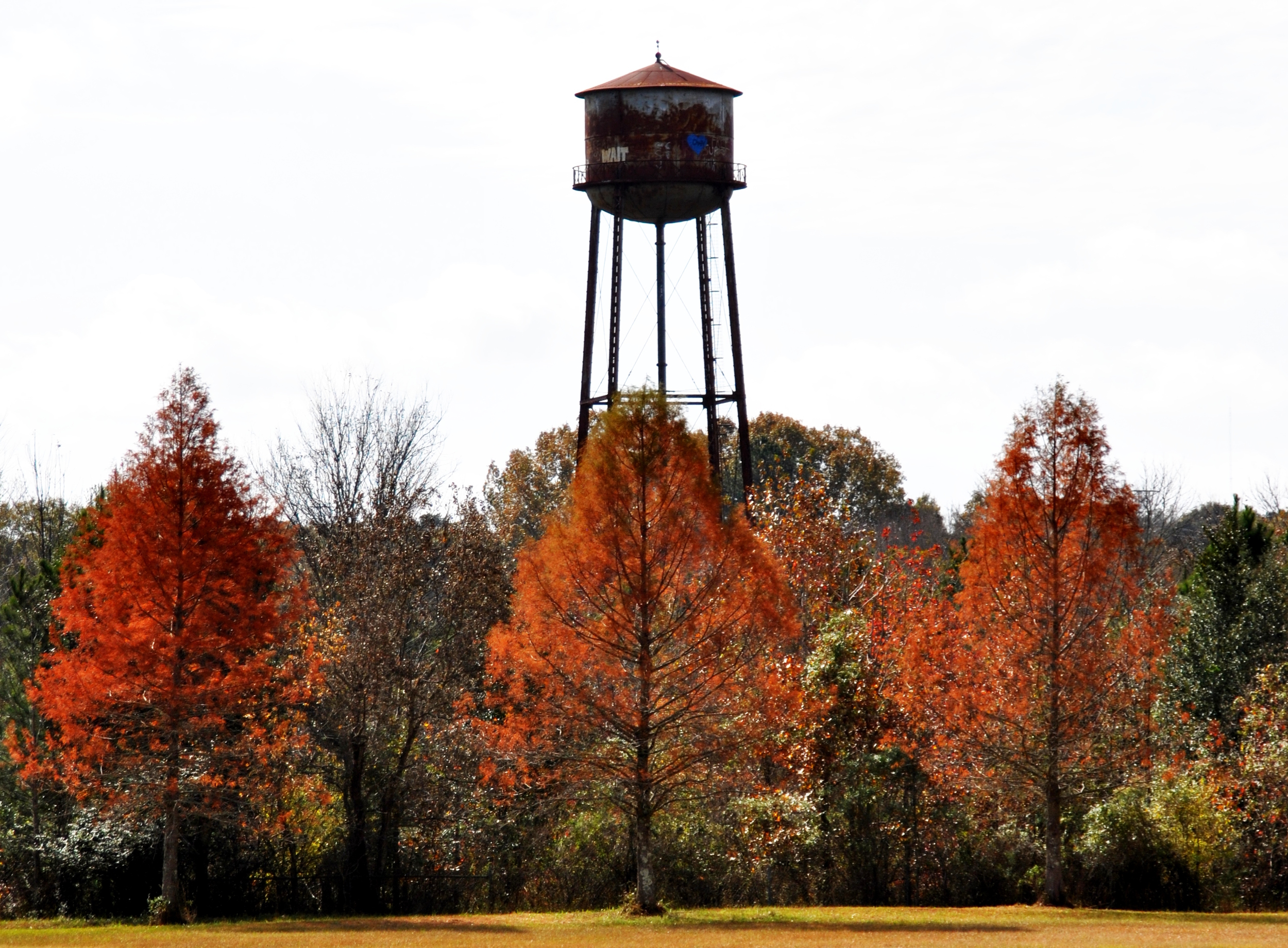 No, water tower. We no longer have to wait. Pearl River Flow is breaking this story wide open.