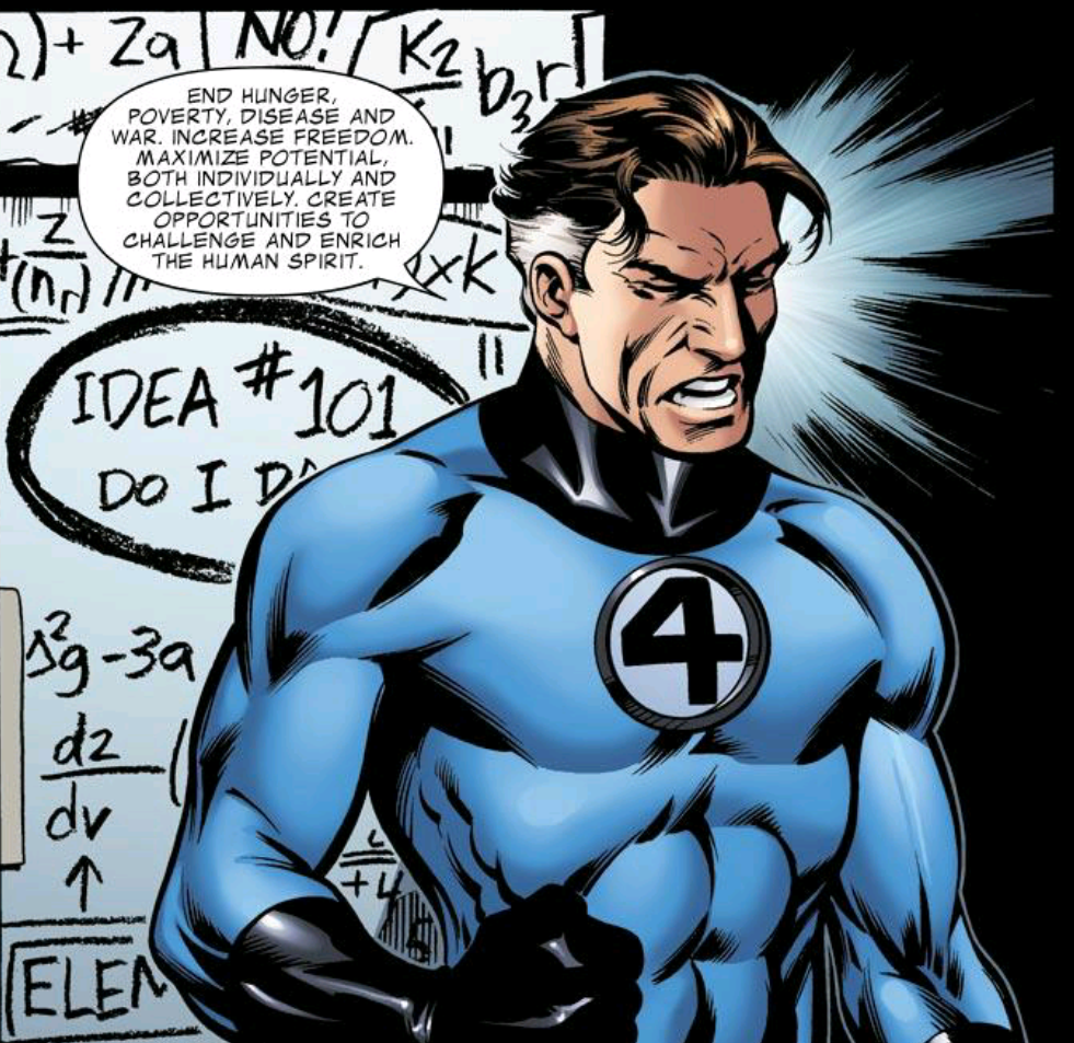 """This is literally what Reed Richards stopped work on to devote time to his """"throw my friends in space Gitmo"""" plan."""