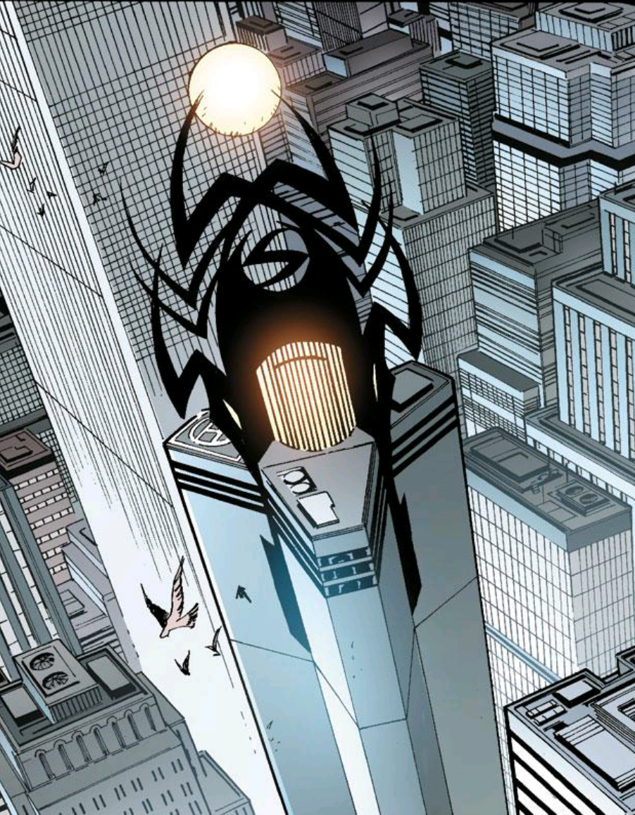 """This is Stark Tower. This is the headquarters tower of someone who is evil. Sauron would take a look at this and go """"whoa, that's a bit over the top, dude."""""""