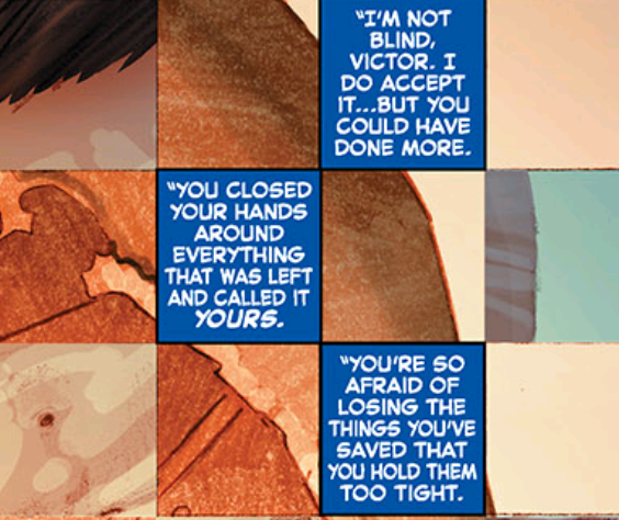 """""""Including all those minor properties, like 'The Fantastic Four,' Sony... uh, I mean, Victor."""""""