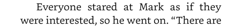 This should have been the first line, because it really sets the tone for the next 436 pages