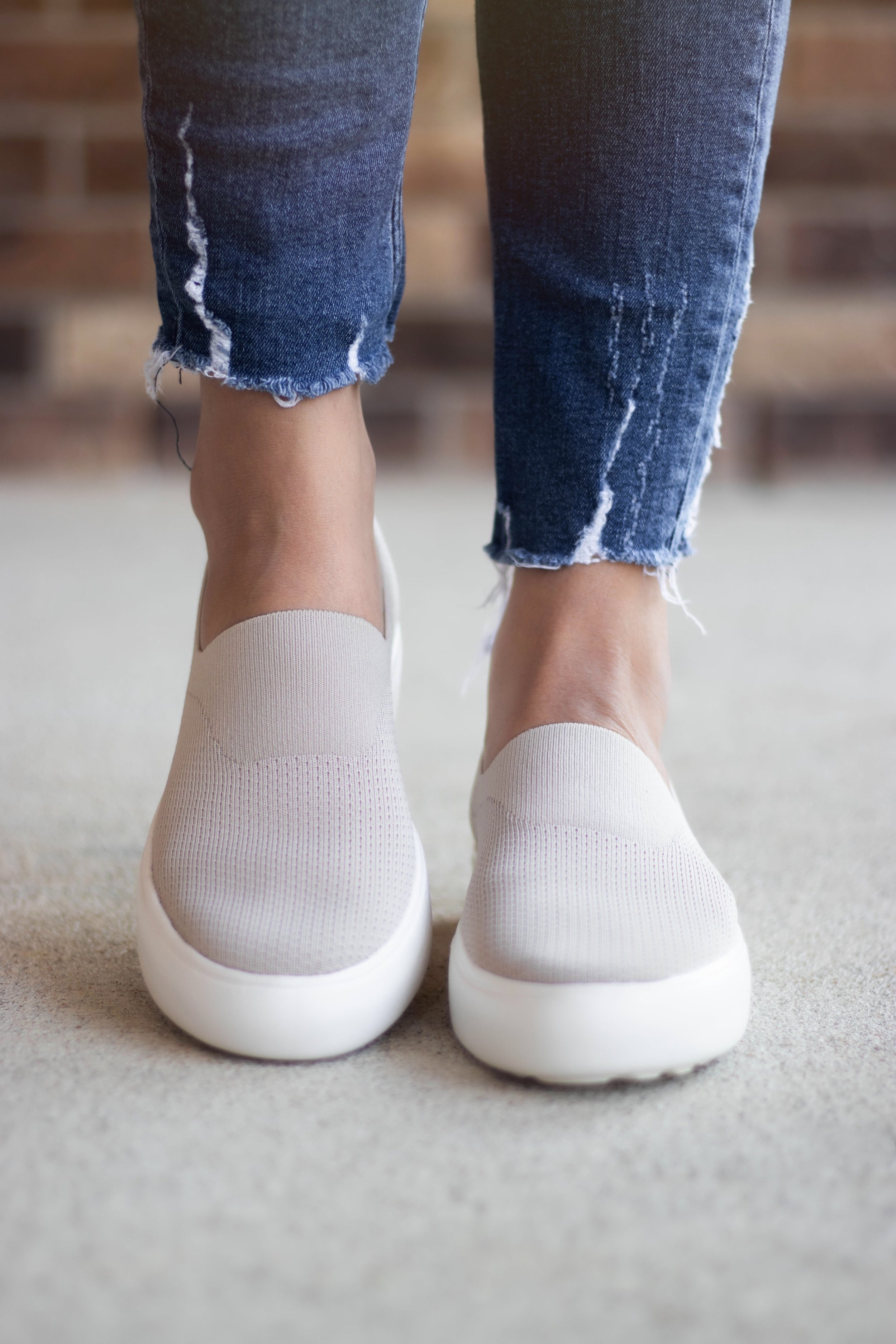 Cougar Shoes | Stretch knit slip-on