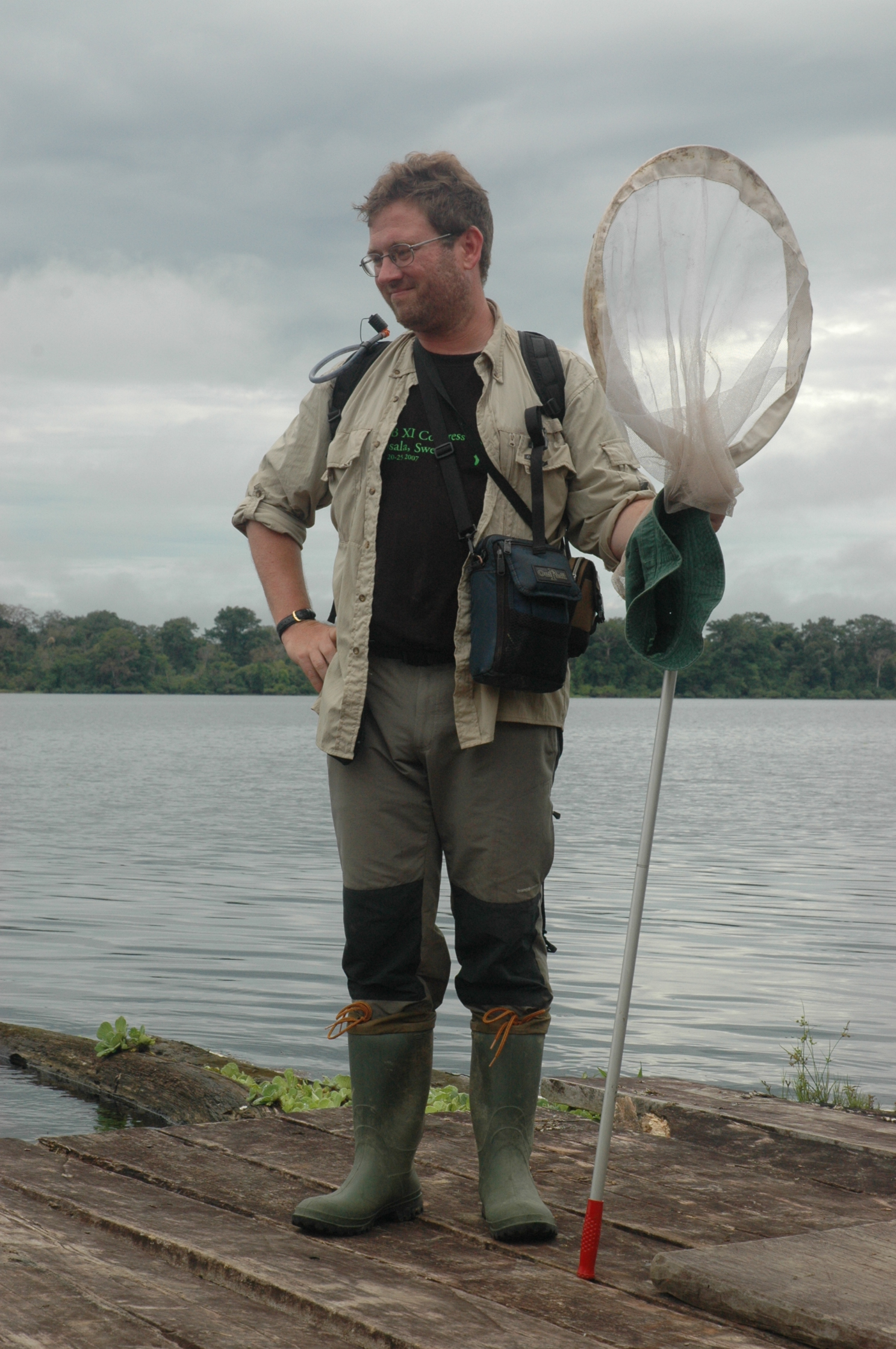 On the trail of Amazonian damselflies; Pacaya-Samiria National Park, Peru, 2008
