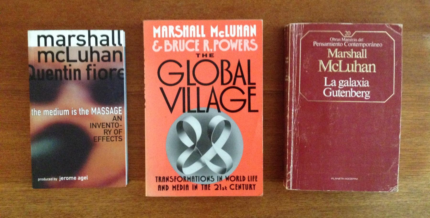 Lean a McLuhan y déjense de tanto Medium