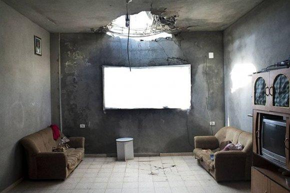 Foto hecha por Kent Klich en Gaza, ganadora del premio de World Press Photo 2010.