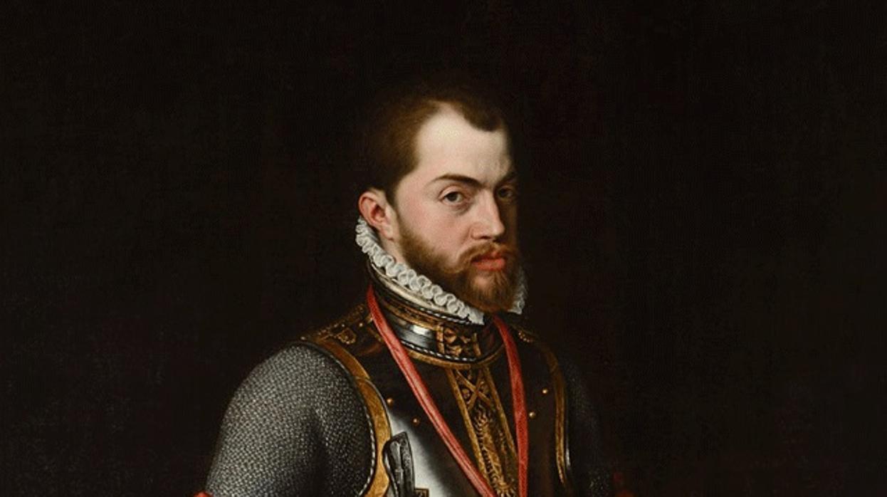 Felipe II, un tipo culto, audaz y bastante  fucker  por lo que se comenta.