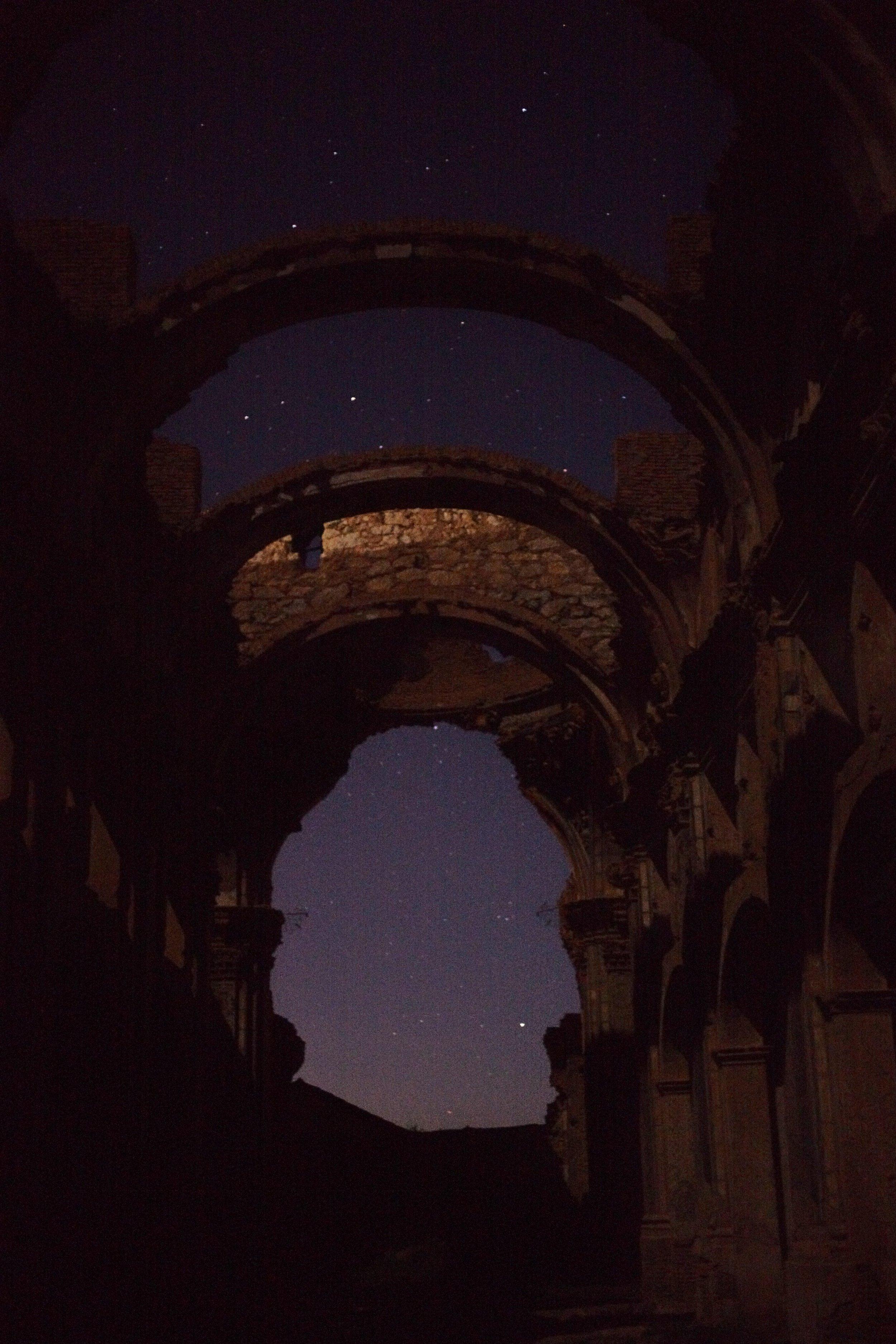 Fotos tomadas con la cámara a pulso, sin trípode, de ahí lo excesivo del ISO.