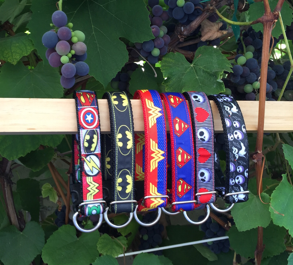 Pop Culture Ribbon Collars