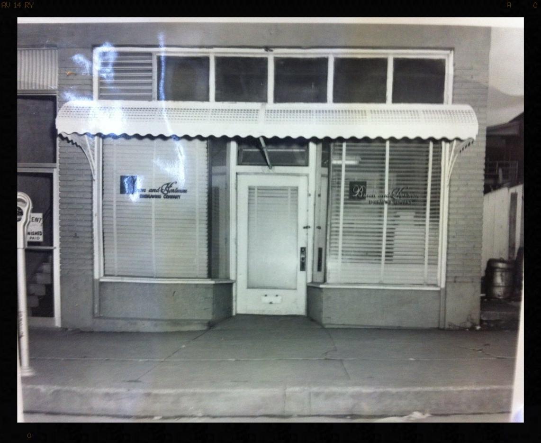 Original storefront - 516 North Denver