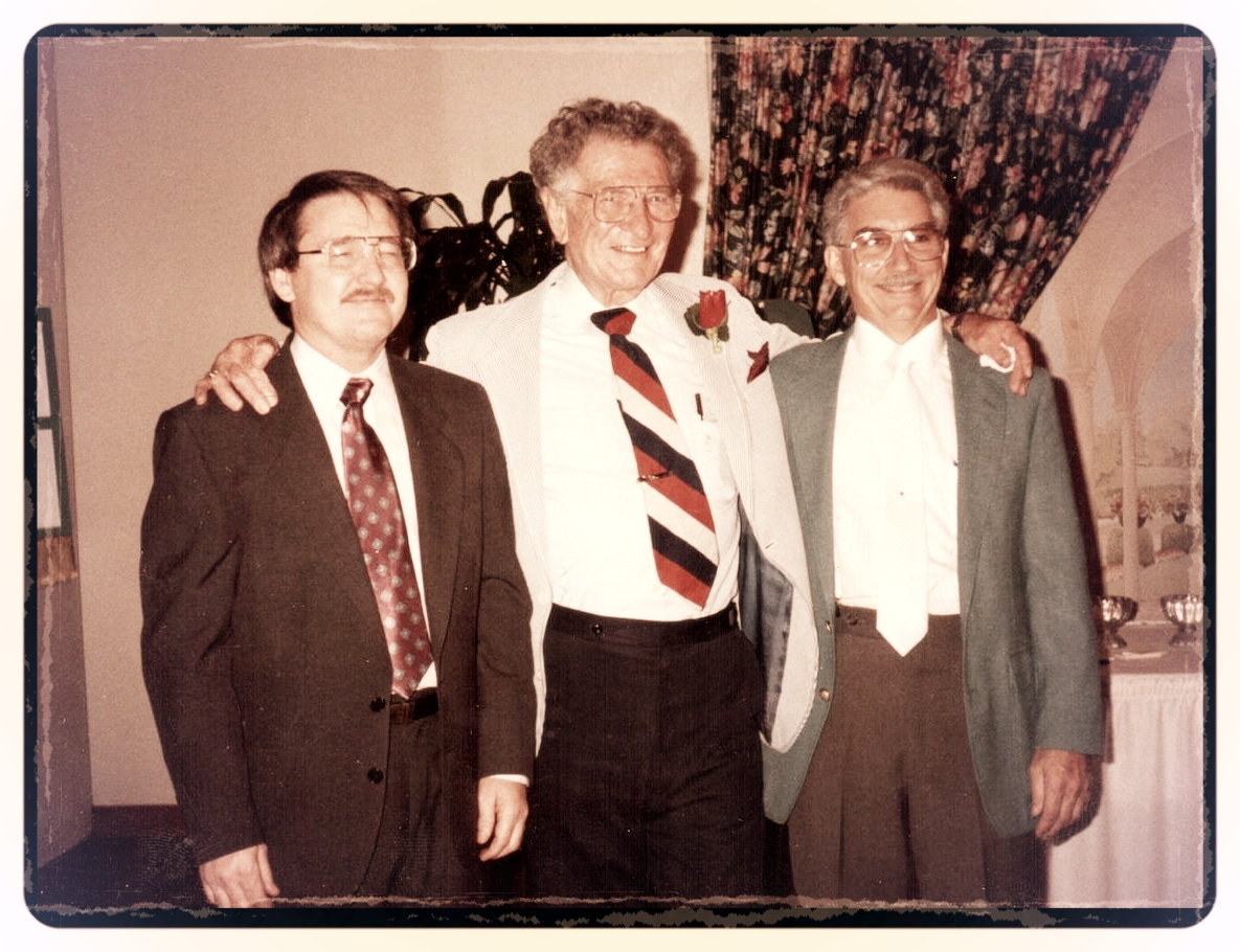 Don Bryant, Bob Brown (one of the original owners)& Milburn Geffs (1992)