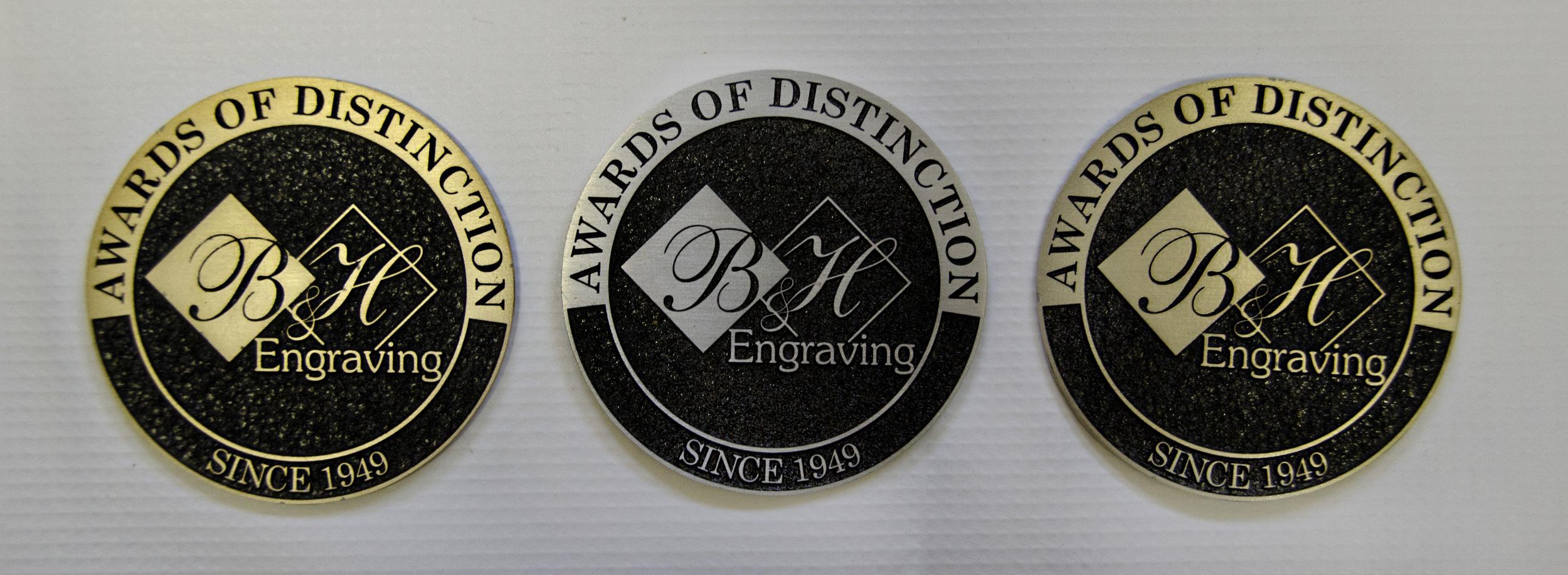 Bronze, Silver or Brass