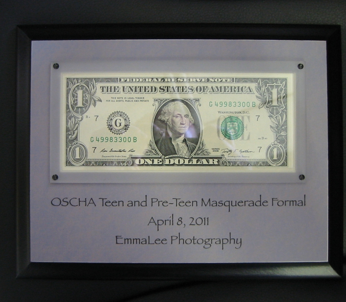 First Dollar Plaque.jpg