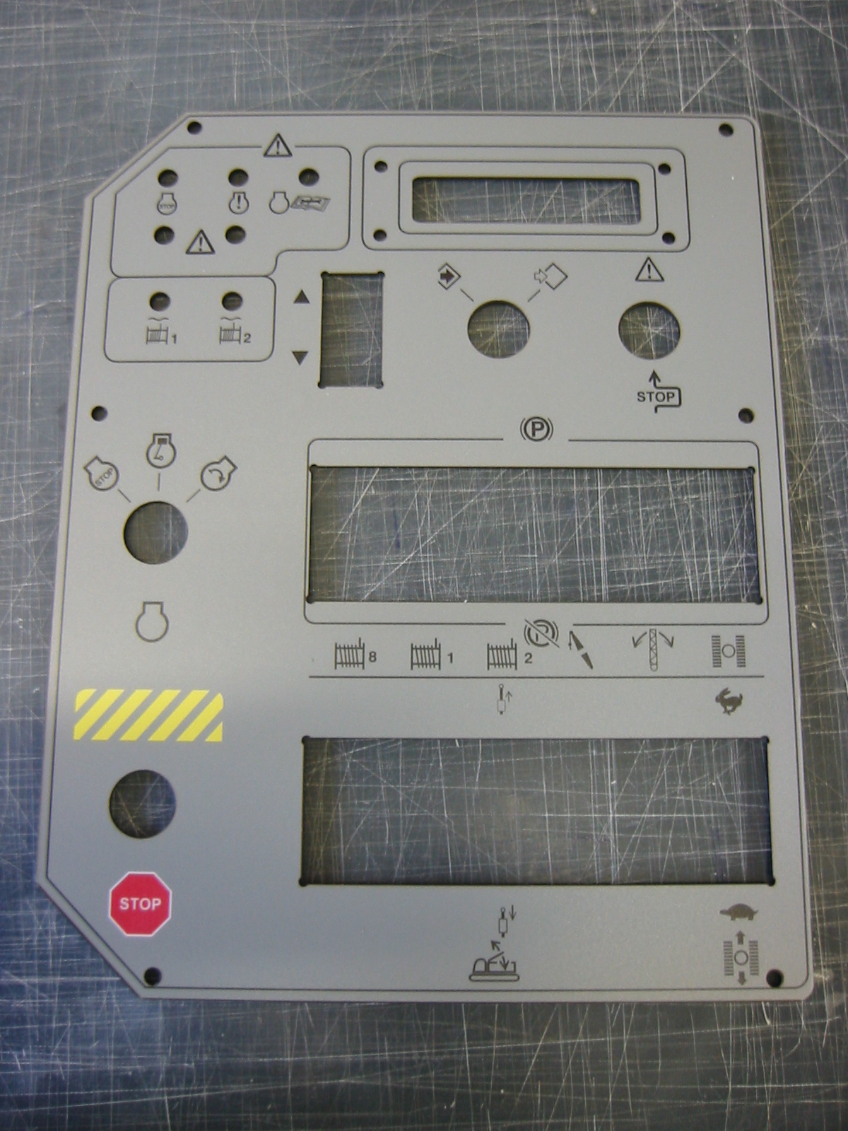 Custom Fabricated Control Panel.jpg