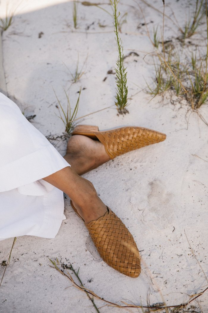 St. Agni Paris Woven Mule -    your summer go to shoe for chic and comfort. You're welcome.