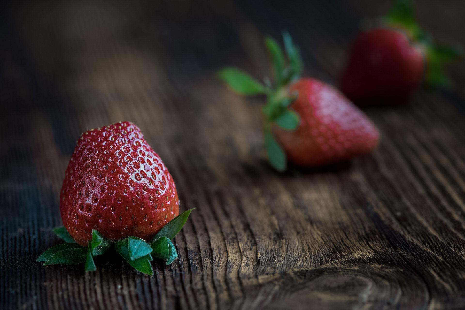 Også jordbær kan gi betennelsesreaksjoner hos enkelte. Foto: Pixabay