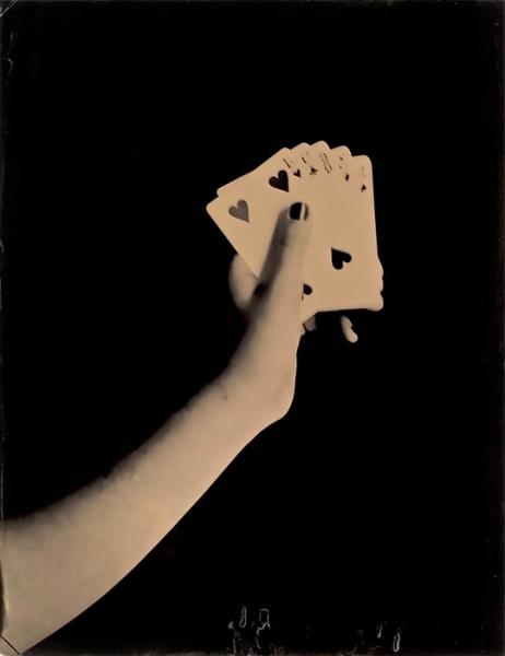 Pencey Prep, Poker, 11 x 14 inch tintype, 2008